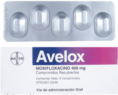 Avelox usage dosage